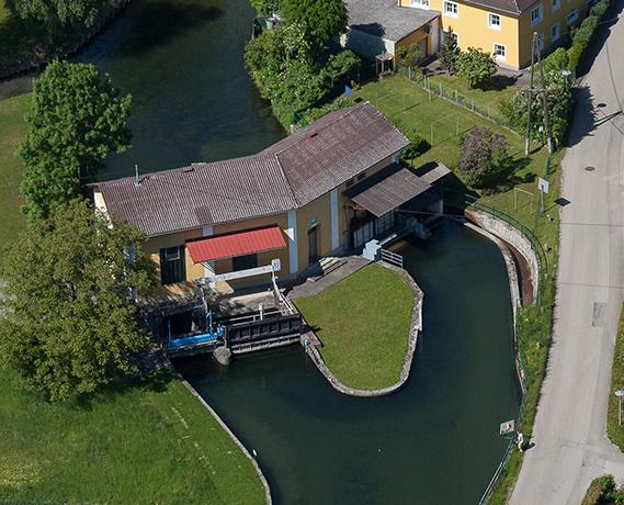 Wasserkraftwerk Mühlwang