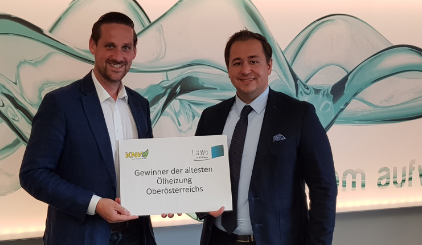Gewinner der ältesten Ölheizung Oberösterreich
