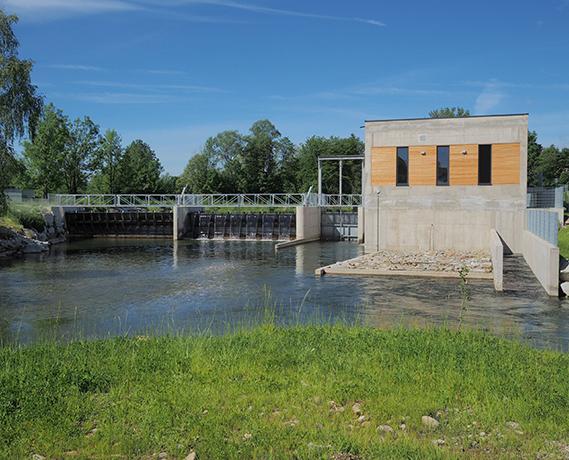 Wasserkraftwerk Timelkam