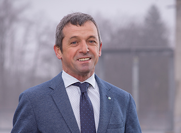 Obmann Wolfgang Stadlmayr